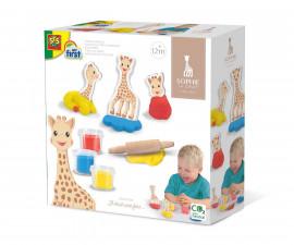 Животни от пластелин SES, жирафчето Софи серия Clay; Play dough; Hobby 14496