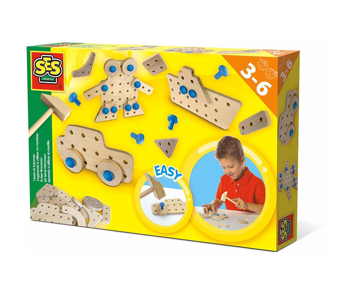 Детска играчка за сглобяване - СЕС - Уча се да ползвам чук