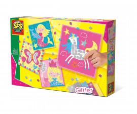 Детска играчка - мъниста и мозайка - СЕС - Мозайка с фантастични животни