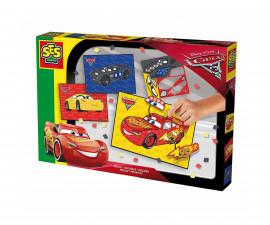 Детска играчка - мъниста и мозайка - СЕС - Мозайка Колите 3