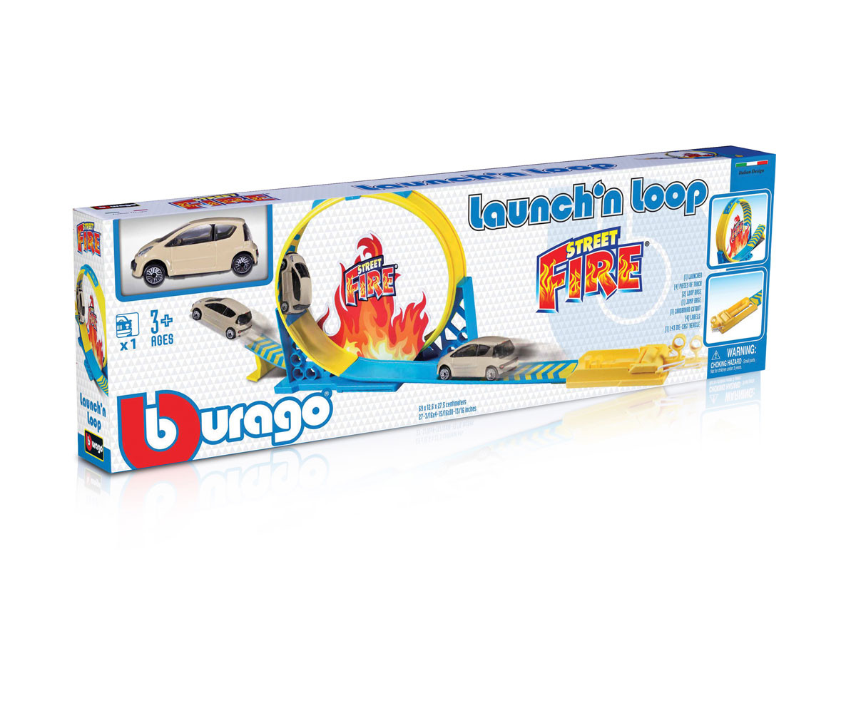Колекционерски модели Bburago Street Fire 1:43 18-30283