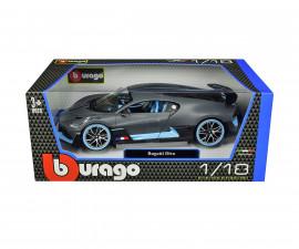 Колекционерски модели Bburago Plus - модел на кола 1:18 - Bugatti Divo