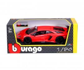Колекционерски модели Bburago Plus - модел на кола 1:24 - Lamborghini Aventador LP750-4 SV