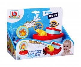 Burago Junior колички - Пожарникарска лодка