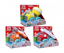 Коли, камиони, комплекти;Строителни машини;Музикални играчки Bburago Junior 16-89030