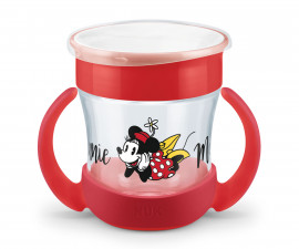 Чаша Nuk Evolution, mini Magic Cup Mickey, 6м+, момиче, 160мл