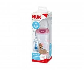 Бебешко шише за вода Nuk First Choice Temperature control, 300 мл, силикон Bambi 6-18м 10741997