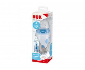 Бебешко шише за вода Nuk First Choice Temperature control, 300 мл, силикон Dumbo 6-18м 10741998