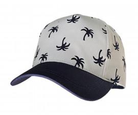 Лятна шапка с козирка Maximo, палми 03503-916800