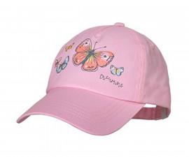 Лятна шапка с козирка Maximo, пеперуди, асортимент 03503-920276