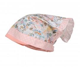 Лятна шапка кърпа Maximo, розова на бели точки, цветя, асортимент 13400-081100