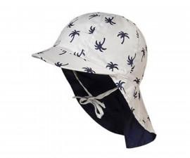 Лятна защитна шапка Maximo, сива, палми, UPF50+, асортимент 04503-916700