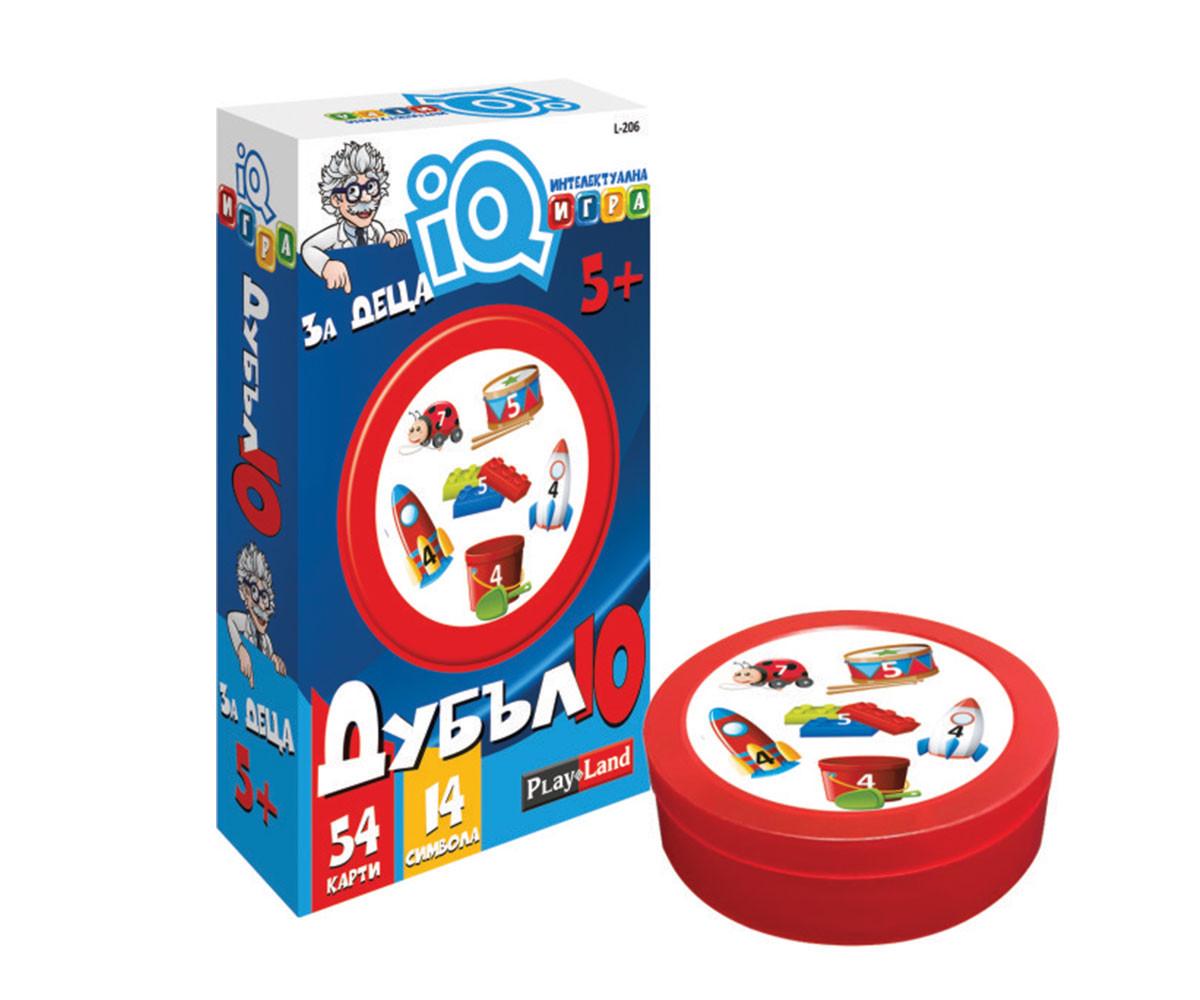 Детска забавна игра IQ надпревара: За деца