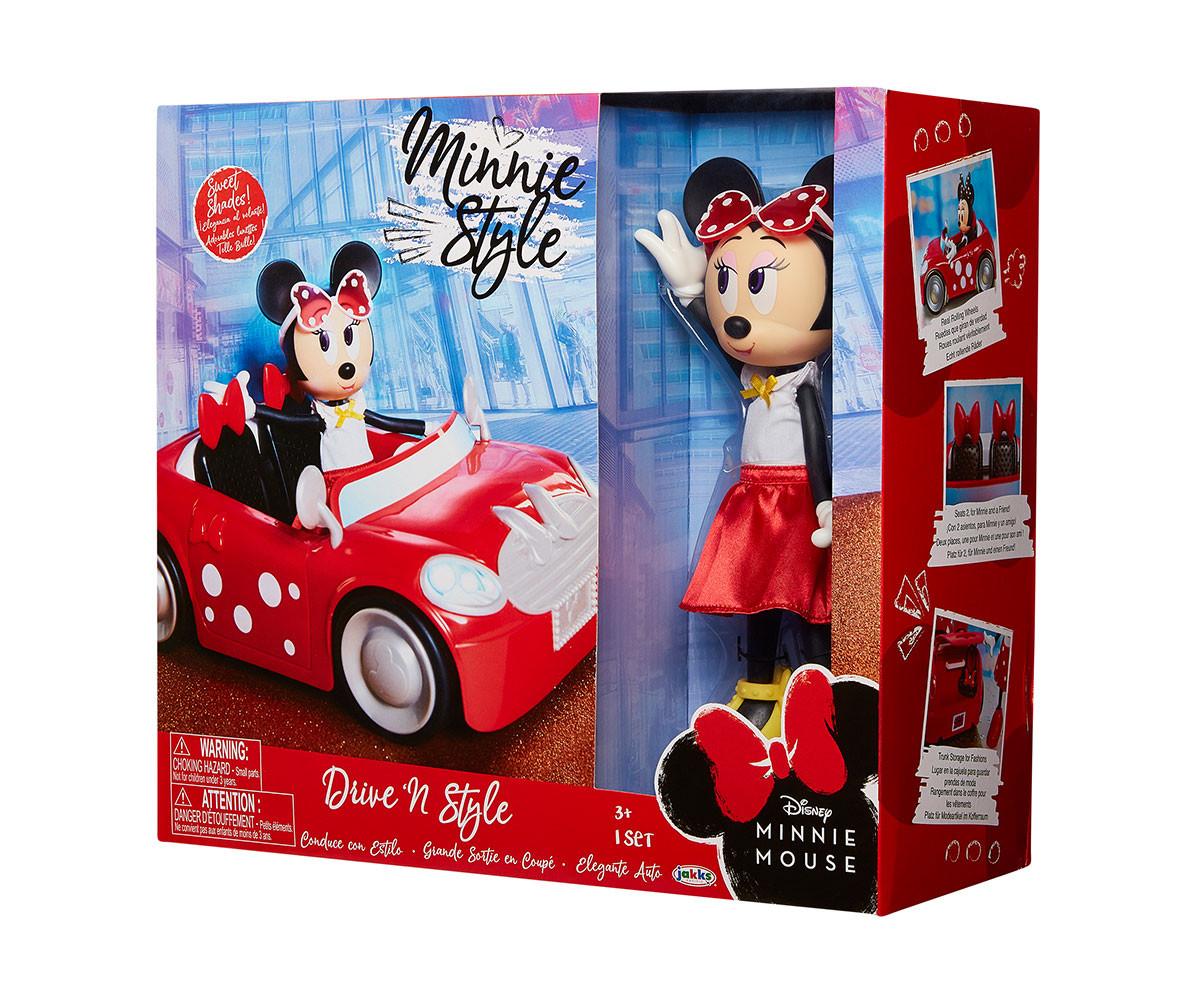 Детска играчка кукла Мини Маус с мини купър