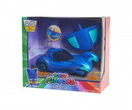 Детска играчка - герой от филм - Пижама маски - Колата на Катбой с радиоуправление