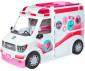 Детска играчка - Барби, игрален комплект с линейка - мобилна клиника thumb 2