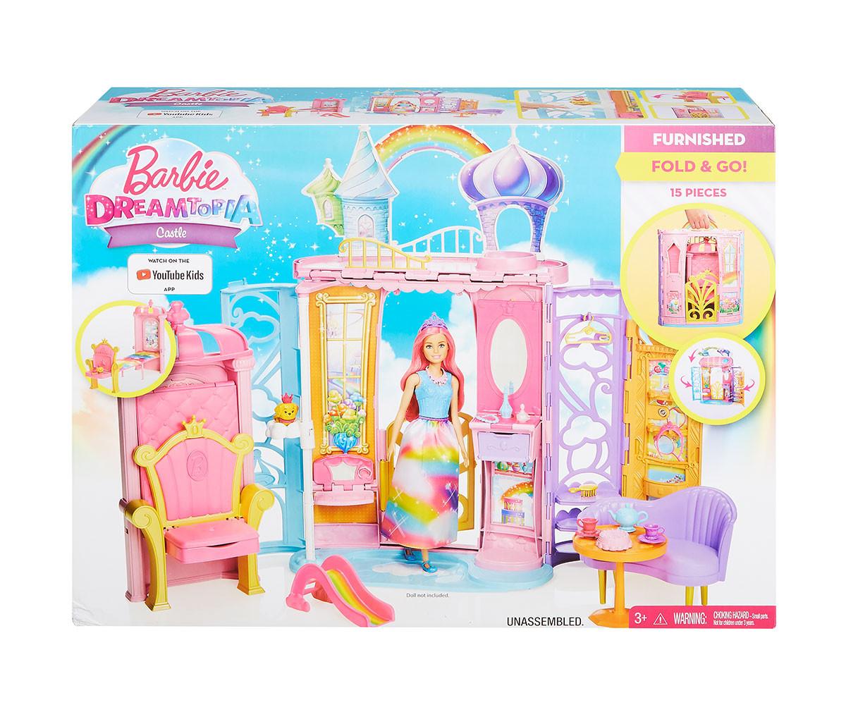Детска модна кукла Barbie - Игрален комплект замък
