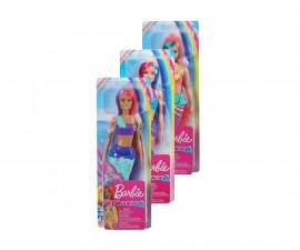 Детска играчка модни кукли Barbie GJK07 Кукла Barbie - Дриймтопия кукла русалка, асортимент