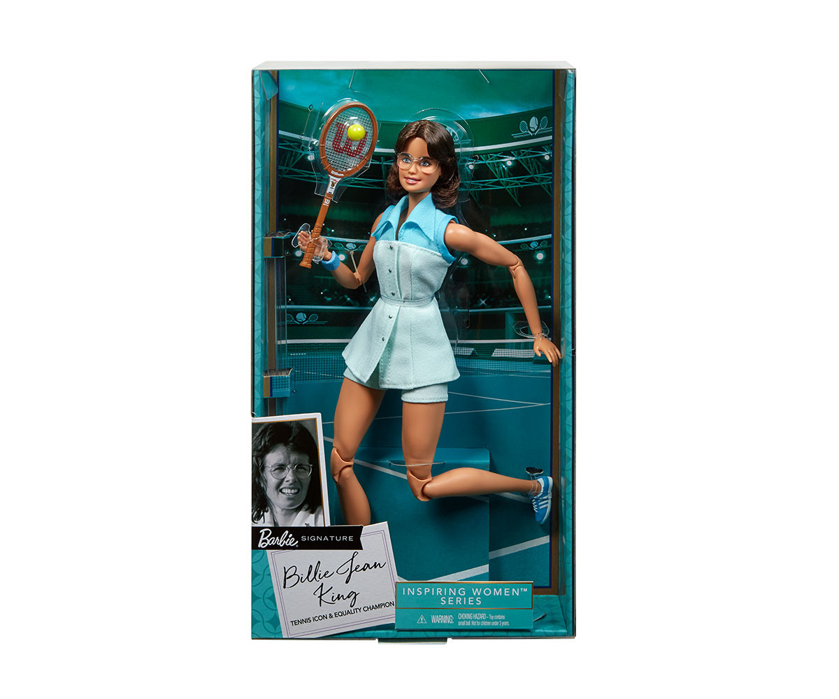 Кукла Барби Били Джийн Кинг, вдъхновяващи жени