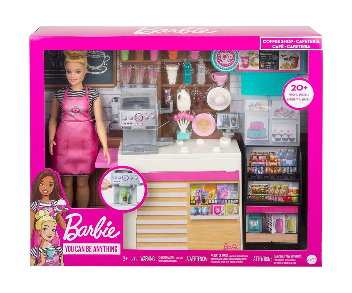 Кукла Barbie - Игрален комплект за приготвяне на кафе