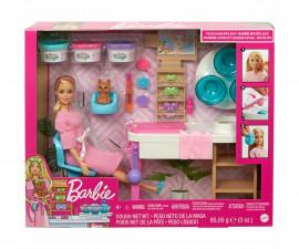 Кукла Барби - Игрален комплект Спа: маска за лице