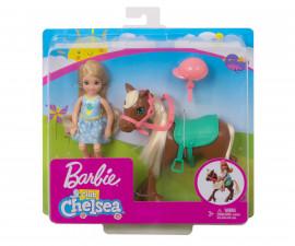 Кукла Barbie - Челси с пони