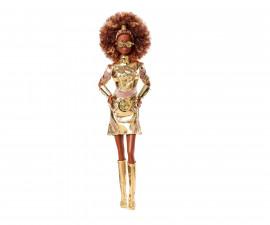 Детска играчка за момиче кукла Barbie - Колекционерска кукла Междузвездни войни: C-3P0