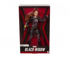 Детска играчка за момиче кукла Barbie - Колекционерска кукла Марвел: Черната вдовица