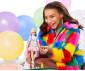 Детска играчка за момиче кукла Barbie - Екстра мода, с двуцветна коса thumb 3