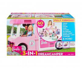 Детска играчка модни кукли Barbie GHL93 Кукла Barbie - Кемпер на мечтите 3в1