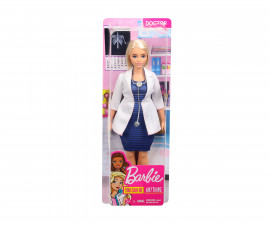 Детска играчка модни кукли Barbie FXP00 - Кукла с професия Доктор