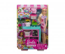 Детска играчка модни кукли Barbie GTN58 - Комплект Магазин за цветя