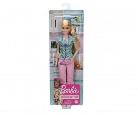 Детска играчка модни кукли Barbie GTW39 - Кукла с професия медицинска сестра
