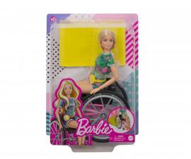 Детска играчка модни кукли Barbie GRB93 - В инвалидна количка