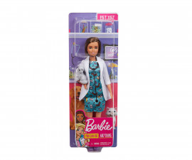 Детска играчка модни кукли Barbie GJL63 - Професия ветеринар