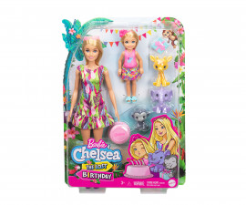 Игрален комплект кукла Barbie - Барби и Челси: Изгубеният рожден ден GTM82