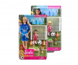 Игрален комплект кукла Barbie - Професия спортист, асортимент GLM53