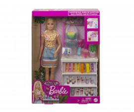 Игрален комплект кукла Barbie - Комплект смути бар GRN75