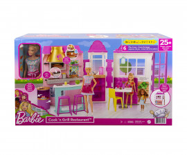 Игрален комплект кукла Barbie - Кукла с ресторант HBB91
