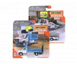 Детска играчка коли, камиони, комплекти Mattel N3242 Тежка Техника Matchbox, колички асортимент