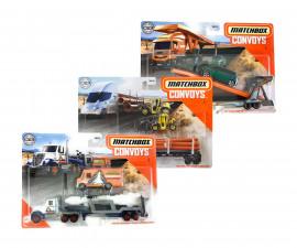 Комплект Ескорт Matchbox - 2 превозни средства, асортимент