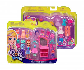 Детска забавна играчка GBF85 Комплект Polly pocket - Кукла с аксесоари, асортимент