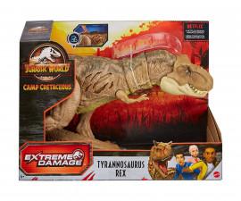 Детска играчка герои от филми Mattel Джурасик свят: Унищожаващ Тиранозавър Рекс GWN26