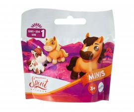 Детска играчка герои от филми Spirit - Мини фигура изненада, пони в непрозрачно пликче GXF73