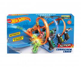 Детска игрален комплект Hot Wheels, тирбушон