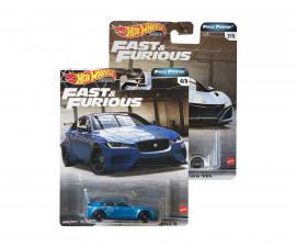 Детска играчка коли, камиони, комплекти Hot Wheels GBW75 Hot Wheels - Бързи и яростни метална количка, асортимент