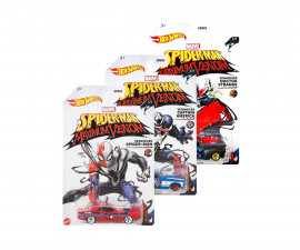 Детска играчка коли, камиони, комплекти Hot Wheels GDG83 Hot Wheels - Метална количка Entertainment 1:64, асортимент