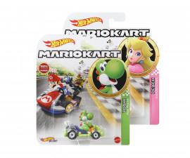 Детска играчка за момче Hot Wheels - Количка от колекция Супер Марио GBG25