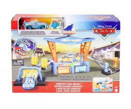 Детски комплект за игра Колите 3 - Автомивка с количка с промяна на цвета, асортимент