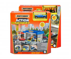 Колекционерски колички за момчета Matchbox - Детски комплект за игра Action Drivers, асортимент GVY82